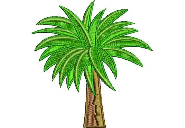 Výšivka rostlina 1