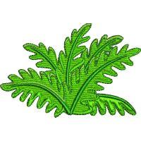 Výšivka rostlina 2