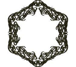 Výšivka ornament 104
