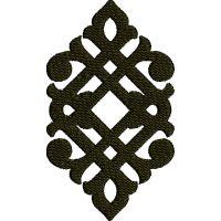 Výšivka ornament 117