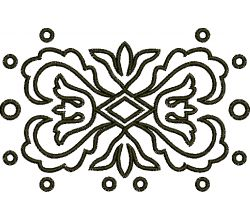 Výšivka ornament 27