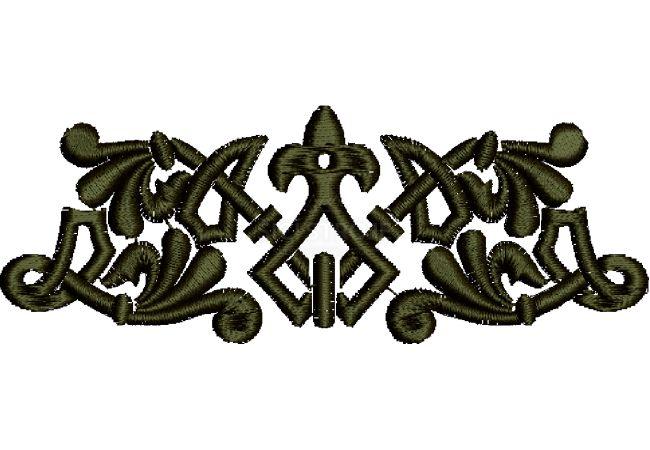 Výšivka ornament 32