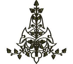 Výšivka ornament 37