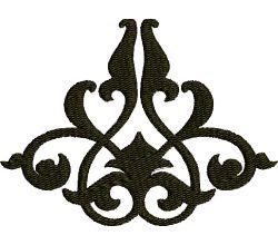Výšivka ornament 43