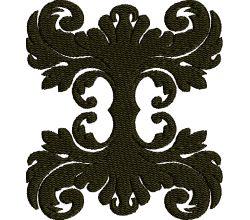 Výšivka ornament 49