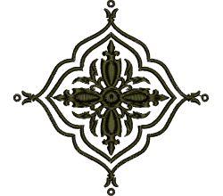 Výšivka ornament 66