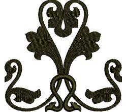 Výšivka ornament 76