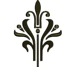 Výšivka ornament 77