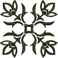 Výšivka ornament 81