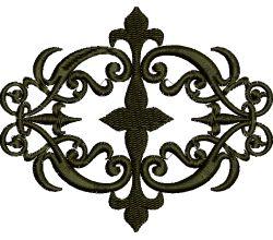 Výšivka ornament 82