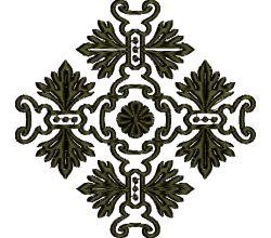 Výšivka ornament 91