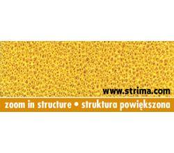 Pěnovka silikonová pro žehlení, potah ELASTIC SOFT 6MM YELLOW 150