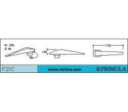 Rukávník na žehlící stul PRIMULA F2/C