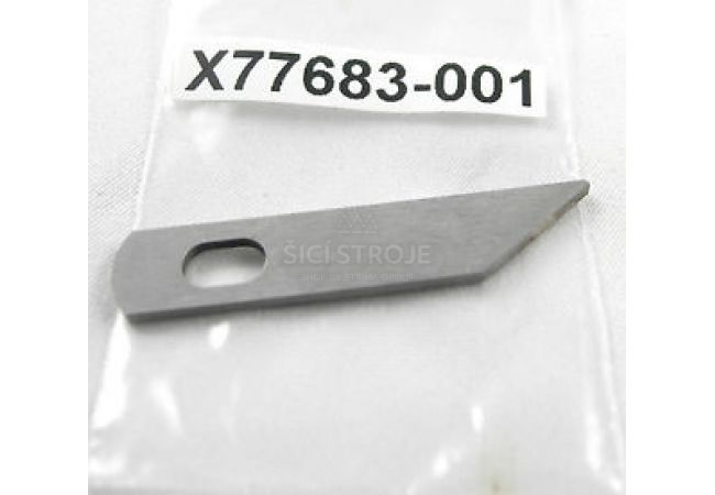 Spodní nůž pro overlock Husqvarna, Brother X77683-001