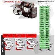 Etiketovací kleště BLITZ TEXTIL 2644