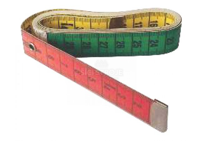 Krejčovský metr 150cm dělený