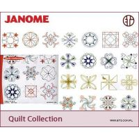 Sada výšivek Janome Quilt Collection