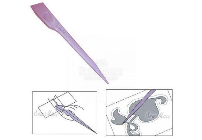 Rozžehlovač švů - hladítko textilu DW-FP01