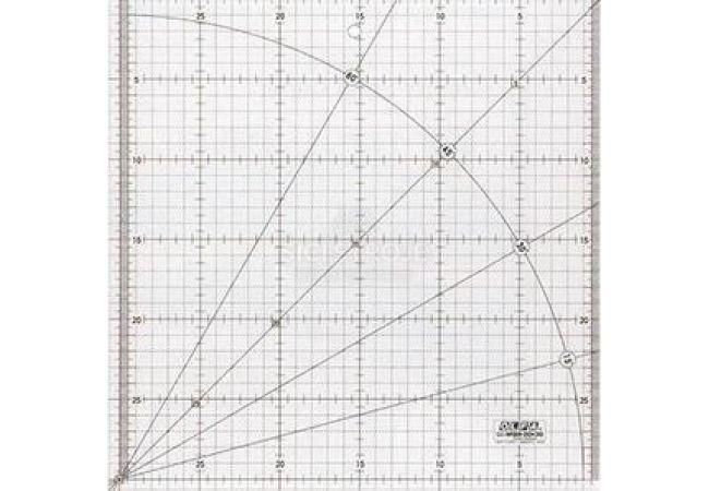 Rastrové pravítko OLFA MQR-30x30