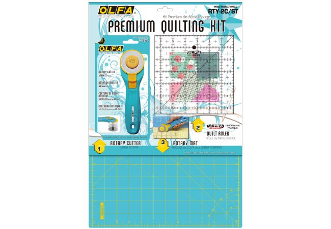 Premium Quiltmaking Kit OLFA RTY-2C/STQR
