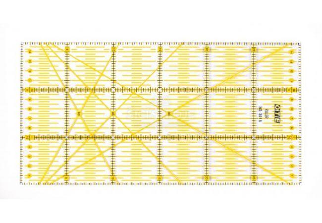 Rastrové pravítko OLFA OTE 15x30 cm