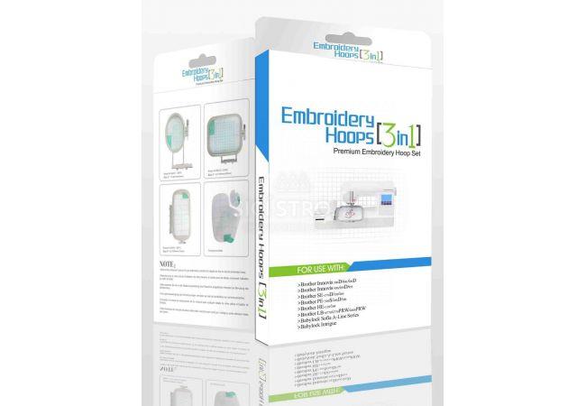 Vyšívací rámečky Sewtech EF61, EF62, EF71