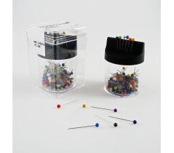 xŠpendlík ocel plast 200ks s magnetickým boxem