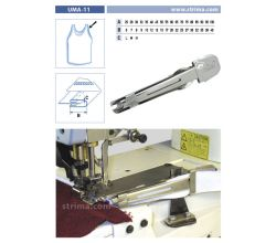 Zakladač pro šicí stroje UMA-11 60/20 M