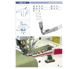 Zakladač pro šicí stroje UMA-38 40/20x15/7,5 L