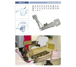 Zakladač pro šicí stroje UMA-43 28/7x20/10 M