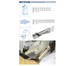 Zakladač pro šicí stroje UMA-165-C 95/38 H