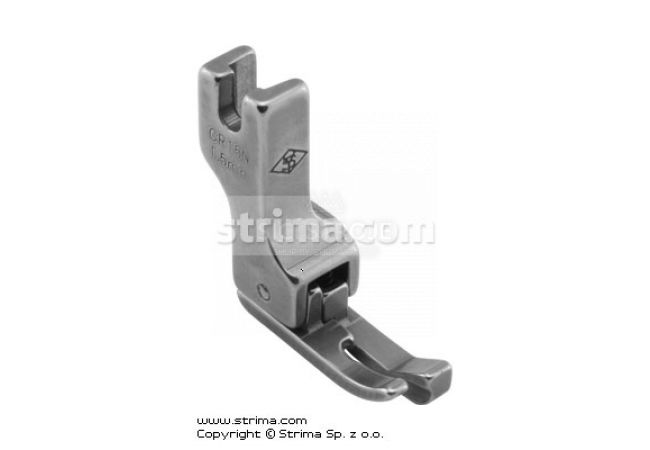 Patka kompenzační pro šicí stroje CR15N 1,5MM