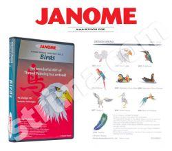 Kolekce výšivek Janome - Birds