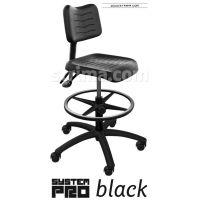 Průmyslová židle SYSTEM PRO BLACK 1B+2B+3A+4A+5B