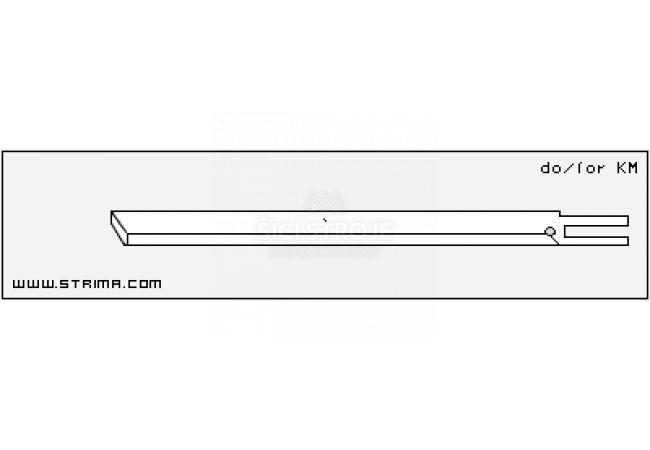Vertikální nůž 5KM-HSS JUNIOR