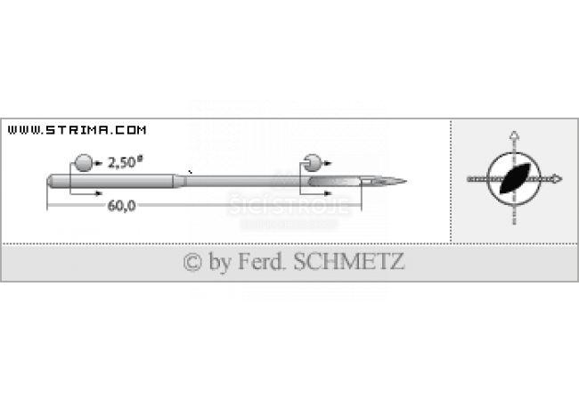 Strojové jehly pro průmyslové šicí stroje Schmetz 794 LR 200