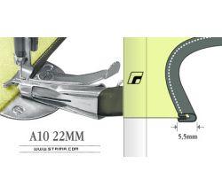 Zakladač pro šicí stroje A10 22MM