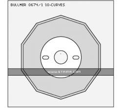 BULLMER 0674/1 ROUND BS