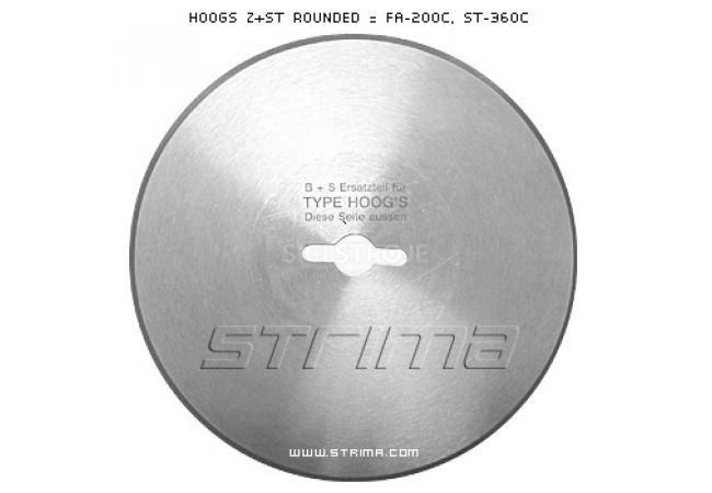 HOOGS Z+ST ROUND = FA-200C, ST-360C BS