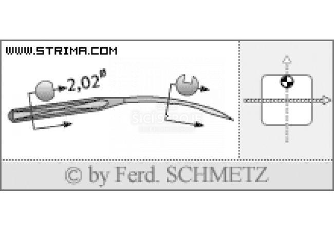 Strojové jehly pro průmyslové šicí stroje Schmetz UY 154 GAS 70
