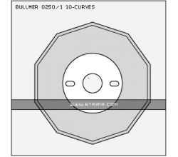 BULLMER 0250/1 10-CURVES BS