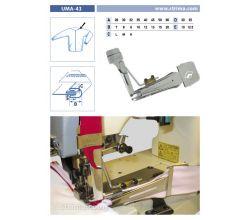 Zakladač pro šicí stroje UMA-43 35/10x15/7,5 L