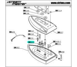 Termostat pro žehličku SM003