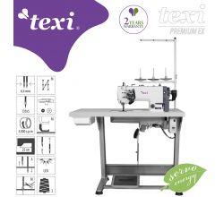 Šicí stroj TEXI TWIN MS PREMIUM EX, jehelní podávání