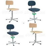 Pracovní židle - kovové židle