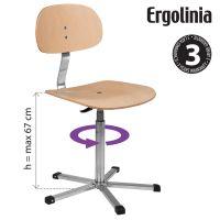 Průmyslová židle ERGOLINIA 10004
