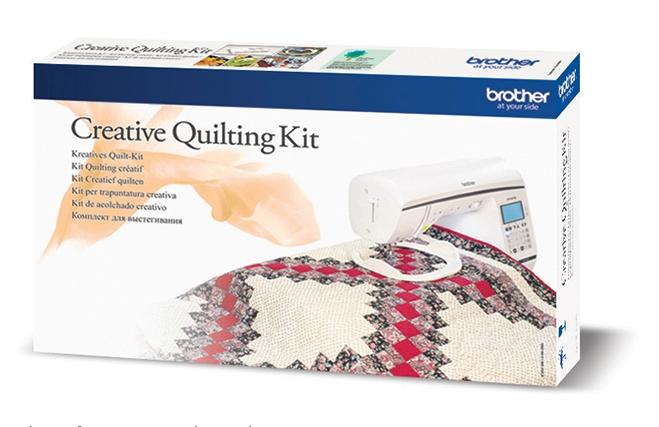 Kreativní quiltovací sada Brother QKF2