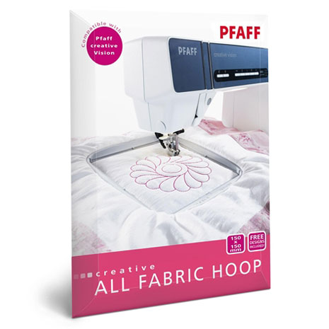 Vyšívací rámeček ALL FABRIC HOOP II 150x150