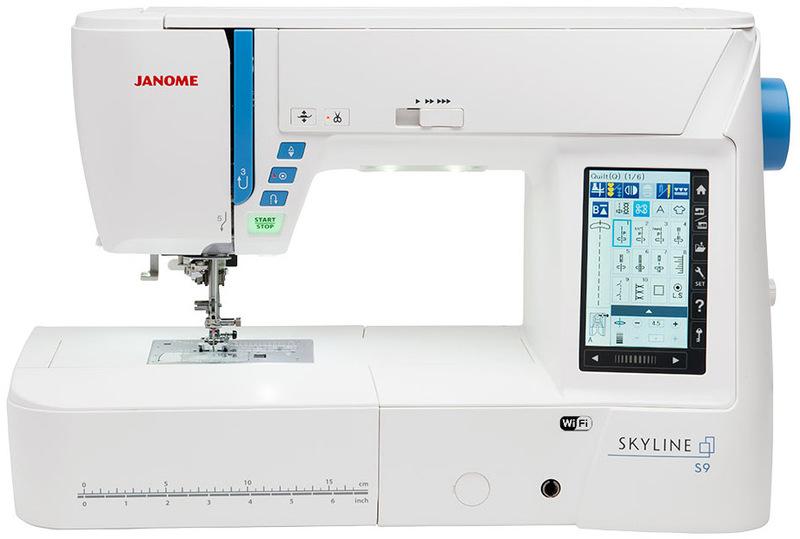 JANOME Skyline S9