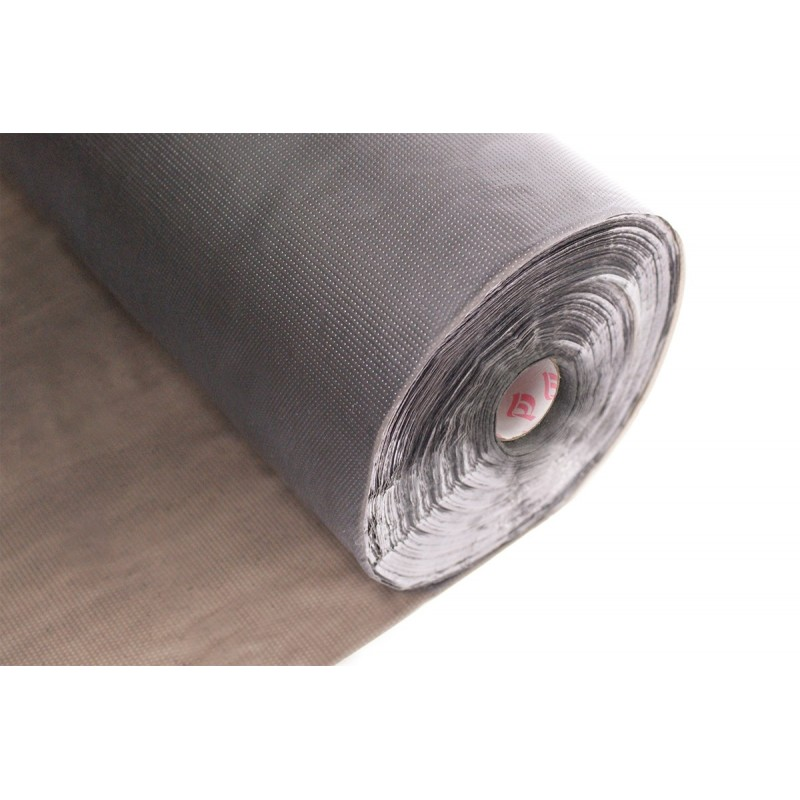 Vyšívací tepelná fólie 50 µm - černá